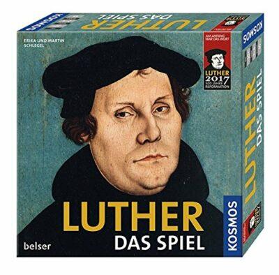 Brettspiel: Luther, das Spiel