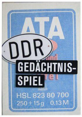 Das DDR Gedächtnisspiel Memo ATA