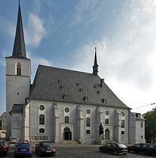 Südansicht der Herderkirche