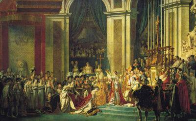 Kaiserkrönung in Notre-Dame (Jacques-Louis David 1805-1807)