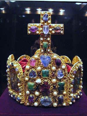 Reichskrone in der Wiener Schatzkammer