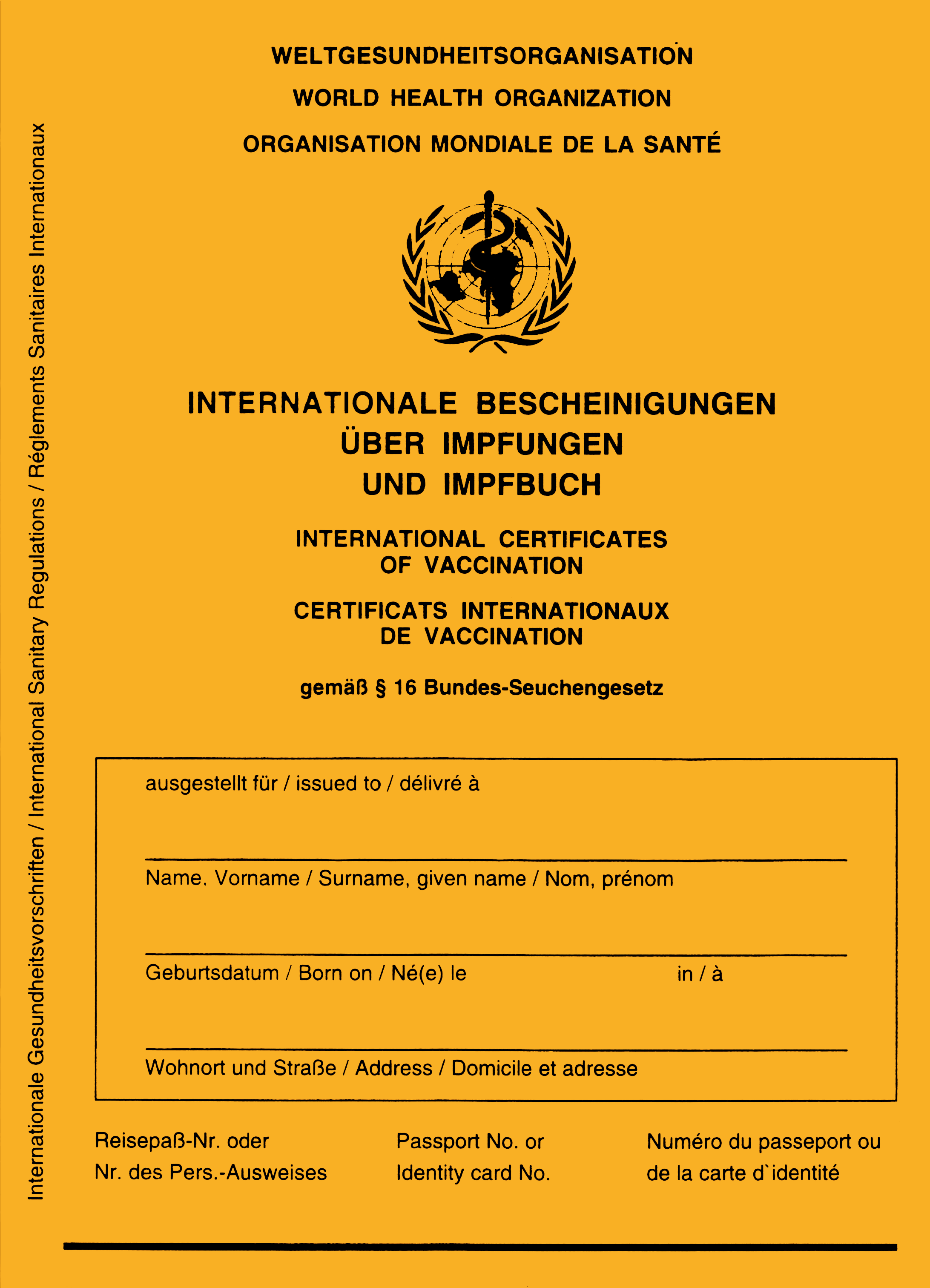 Impfausweis DDR