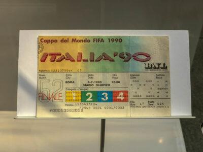08.07.1990: Deutschland wird Fußball-Weltmeister.