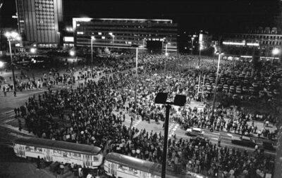 09.10.1989: Größte Demo in der DDR seit 1953 in Leipzig