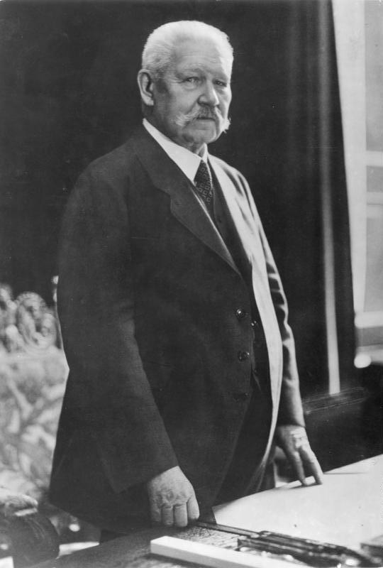 10.04.1932: Hindenburg erneut zum Reichspräsidenten gewählt
