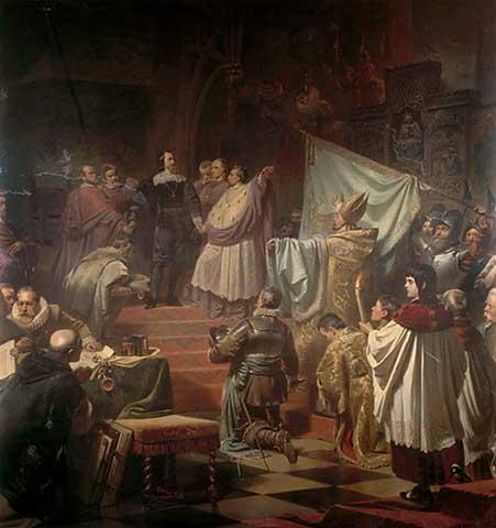 10.07.1609: Katholische Liga wird gegründet.