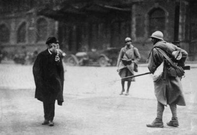 11.01.1923: Französische und belgische Truppen besetzen das Ruhrgebiet.