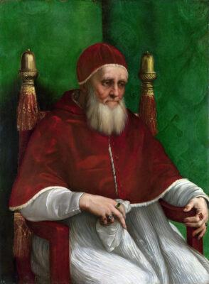 """1507: Papst Julius II. verkündet """"Plenarablass""""."""