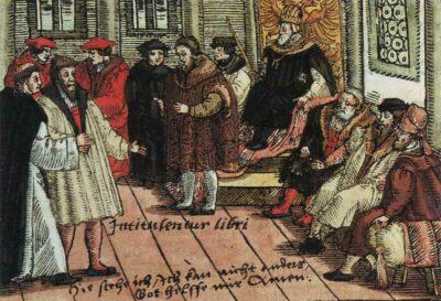 18.04.1521: Wormser Reichstag findet statt.