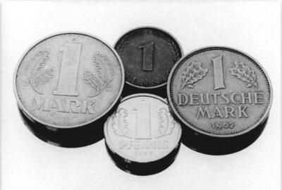 18.05.1990: Währungsunion besiegelt.