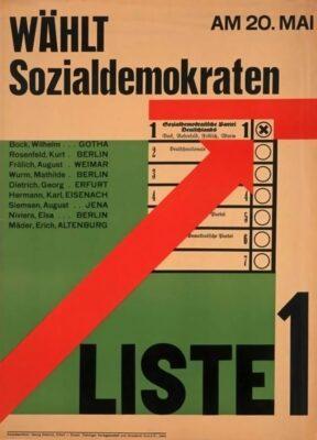 20.05.1928: SPD erhält fast 30 % bei Wahlen.
