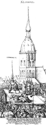 25.06.1535: Täuferbewegung wird niedergeschlagen.