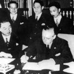 25.11.1936: Deutschland und Japan unterzeichnen Antikominternpakt.