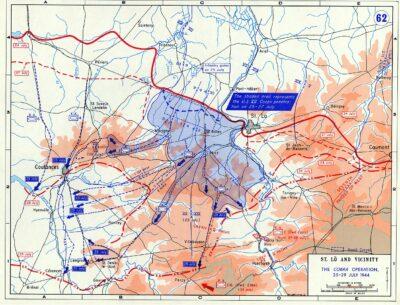 4700 Tonnen Bomben ebneten den Alliierten in Operation »Cobra« den Weg