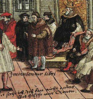 Luther auf dem Wormser Reichstag