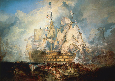 Mit diesem Trick schlug Nelson die Flotte Napoleons