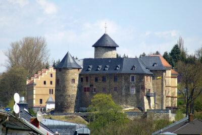 Oelsnitz/Vogtland: Burg Voigtsberg