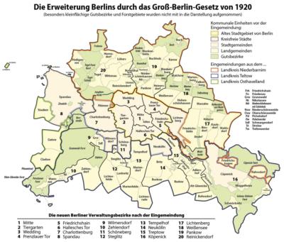 Wie Berlin die drittgrößte Stadt der Welt wurde