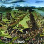 Schlacht bei Pavia: Karl V. besiegt am 24.2.1525 seinen Gegner Franz I.