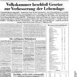 """Das """"Neue Deutschland"""" , ein Spiegel der deutsch-deutschen Geschichte"""