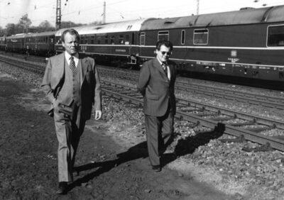 Die Guillaume-Affäre und der Rücktritt von Willy Brandt.